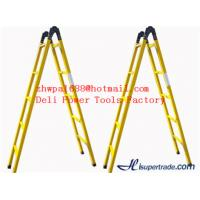 Wholesale A-shape fiberglass insulated ladders&hot selling ladder from china suppliers