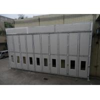 China Full Down Draft Industrial Spray Booth 14 X 12 M Diesel Burner For Air Craft on sale