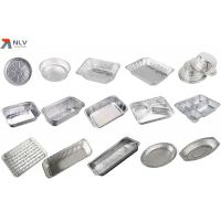China Food containers for catering use aluminum foil containers with lids on sale