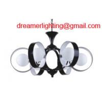 Wholesale 6 light mini crystal chandelier BLACK FRENCH Pendalog crystal Chrome from china suppliers