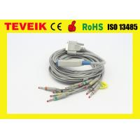 Buy cheap Nihon Kohden BJ-901D 10 Leadwires ECG/EKG Cable, DB 15pin Banana 4.0 IEC without from wholesalers