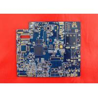 Wholesale 4 Layer Soldering Flash Gold Bare Rigid PCB Manufacturer White Lengend from china suppliers