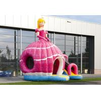 Wholesale Amazing Princess Inflatable Bouncer PVC Material Red Printing Inflatable Bouncy Castle from china suppliers