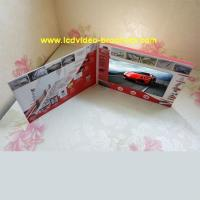 Wholesale Custom Lcd Video Catalog Advertising Video Brochure with usb port from china suppliers