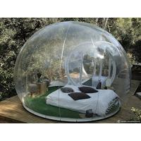 Wholesale Promotion Advertising Camping Bubble Inflatable Tent Easy To Establish from china suppliers