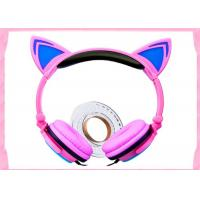 Wholesale high quality and cheap price Noise cancelling headphone kids hot cat ear headset fashion cat headphones L107 from china suppliers