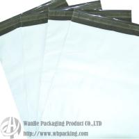 Quality plain poly mailer, white outer&gray inner,water proof,tamper evident for sale