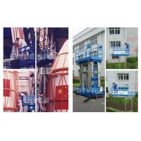 Quality Two Person Four Mast Aluminum Work Platform With 10m Working Height for sale