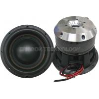 China paper cone / foam surround Dual magnet speaker 10 inch subwoofer 1500 watt on sale