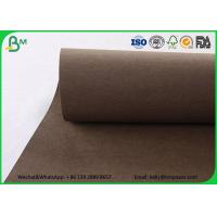 China Colorful Washable Kraft Liner Paper Roll Matte Surface Pink Washable Kraft Paper Bags on sale