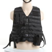 Wholesale Molle System Police Safety Equipment Swat Tactical Vest With Flexible Pouches from china suppliers