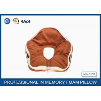 Premium Deluxe Memory Foam Office Sleep Pillow , Nap Pillow For Pressure Relief