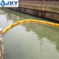 China PVC Floating Oil Boom For Containing Oil Spill on sale
