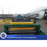 Wholesale Automatic Wire Mesh Manufacturing Machine High Speed 50X50-200X200MM from china suppliers