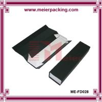 Wholesale Strong rigid cardboard paper box/Luxury black printed box with gloden foil ME-FD028 from china suppliers