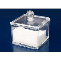 Wholesale Transparent Plastic Display Stand Cube Box For Makeup With Lid from china suppliers