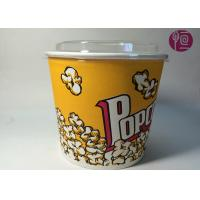 Wholesale 85oz Double PE Coated Neutral Ripple Paper Cups With Plastic Lid from china suppliers