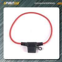 Wholesale ACS Mini blade Automotive Fuse Holder tap with 14-22 AWG power cable from china suppliers