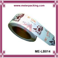 Wholesale Clear matte label sticker/Transparent cosmetic sticker/CustomRoll Stickers  ME-LB014 from china suppliers