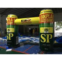 Wholesale Creative Design Inflatable Advertising Products ,  Advertising Bottle Arch With Printing from china suppliers