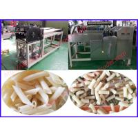Wholesale Single screw extruder second extrusion fried snack food production line from china suppliers