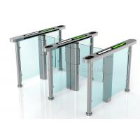 Wholesale Residential Security Speed Gates , Waist High Turnstile Entry Systems DC 24V from china suppliers