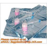Wholesale plastic valv bags, wine carriers, juice beverage bags, drink ice bags, wine gift, portable from china suppliers