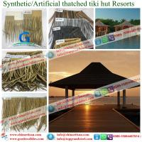 China Brand new synthetic thatch seller with low price fibre thatch / synthetic thatch / artificial thatch on sale