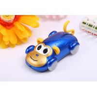 China New Dual Sim Card kids bar phone Cute Monkey Style Phone with Disco Light for sale