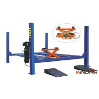 Wholesale Adjustable Hydraulic Car Lift , Four Post Car Lift With Pneumatic Jack WD440C from china suppliers
