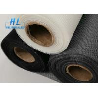 Quality Fireproof Black Color 18*16 Fiberglass Mosquito Net To Italy Market for sale