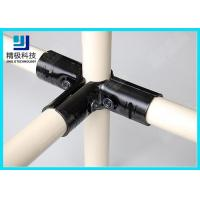 Wholesale 3 way Flexible Metal Pipe Joints Black Electrophoresis For Pipe Rack System from china suppliers