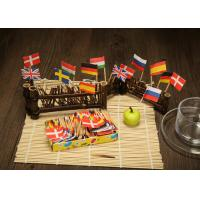 Wholesale Long / Short Decorative Bamboo Skewers , Fancy Fruit Skewer Sticks from china suppliers