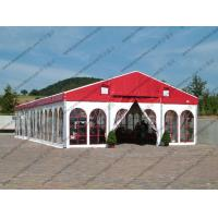 China Colorful Waterproof Alumunium PVC Tent with Church Windows or Plain White Sidewalls for Ceremony / Party / Conference for sale