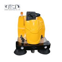 China C200 Electric Vacuum Cleaners Small Cleaning Car 3 Wheel Electric Car New Design Road Sweeper for sale