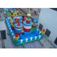 Wholesale Children Inflatable Outdoor Bouncy Castle Inflatable Inflatable Fun City Playground from china suppliers
