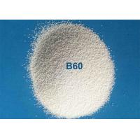 Glass Molds Cleaning Ceramic Blasting Media Zirconium Silicate Beads B60 0.125 - 0.250mm for sale