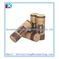 Wholesale recyclable paper tea storage packaging tube box from china suppliers