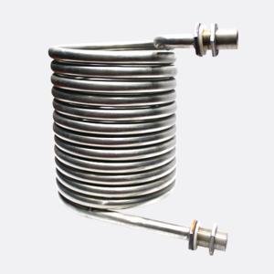 China Titanium Tube Aquarium Evaporator Coil Type Heat Exchanger on sale