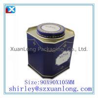 Wholesale tin tea caddy from china suppliers