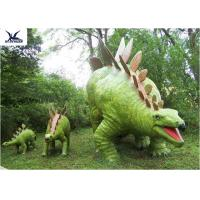Wholesale Jurassic Park Outdoor Resin Animal Statues, Artificial Robotic Moving Dinosaur Sculpture Park from china suppliers