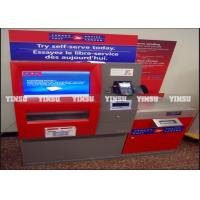 Wholesale ATM Machine Outdoor Advertising Kiosk Modular Design For Easy Maintenance from china suppliers