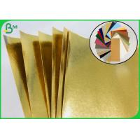 Biodegradable Golden Washable Kraft Fabric For Making Home Storage Bag for sale