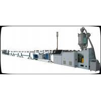 Wholesale High Speed HDPE Pipe Extrusion MachineLine SJ75 Single Screw Extruder from china suppliers