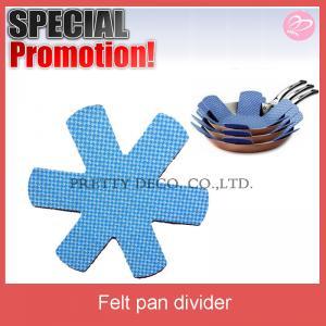 China Antislip print felt mat for pan,divider for frying pan on sale