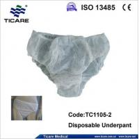 Buy cheap Disposable Nonwoven Underwear /growns sales1@ticare.net from wholesalers