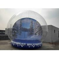 Buy cheap Fun Playing Snow Globe Yard Inflatable , Human Snow Globe Taking Photos Inside from wholesalers