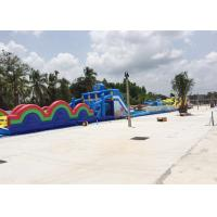 Wholesale Giant Long Obstacle Course Workout , Outdoor Obstacle Course For Rent Business from china suppliers