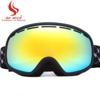 Quality Girls Snowboarding Goggles Mirrored Ski Goggles CE / FDA Approved for sale