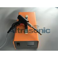 Wholesale 35Khz Ultrasonic Plastic Extrusion Welding Gun / Ultrasonic Spot Welding Machine Customized from china suppliers
